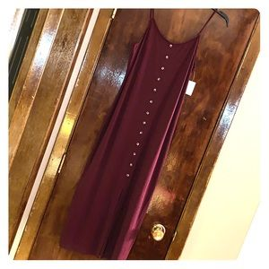 Mudd Long Purple Sundress